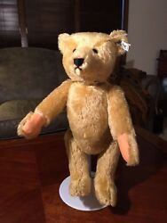 Steiff 1980 Papa Bear Reproduction Pen Signed And Dated 18 Mint Condition