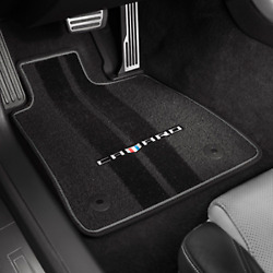 Genuine Gm Floor Mats Carpet Camaro Logo 23240684