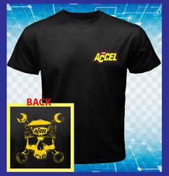ACCEL Logo Ignition Coils Spark Plug Holley 2 Sides Men T-Shirt S M L XL 2XL 3XL