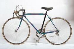 Vintage Handmade Mikkleson Bicycle With Black Campagnolo Group