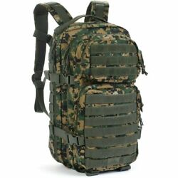 Marines Usmc Marpat Woodland Military Camo Backpack Pack Molle Texas Flag Patch