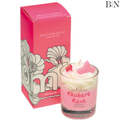 Bomb Cosmetics Rhubarb Rave Piped Candle Worth Andpound29 Genuine Product