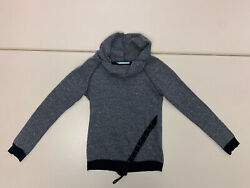 Maurices womens grey longsleeve pull over casual turtleneck sweater size S $5.00