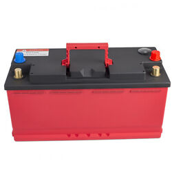 12v 110-20 Lithium Iron Battery Lifepo4 For Auto Boat Motorhome Bms Dual Power