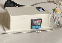 Plug And Play Powder Coating Paint Temperature Controller Gas Oven 6 Tip Probe