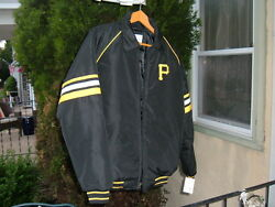 Pittsburgh Pirates Mens Lt. Winter Coat Size Small G-lll By Carl Banks Nwt