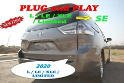 2020 TOYOTA SIENNA L LE XLE LIMITED TO SE MODEL TAILLIGHT CONVERSION - SET
