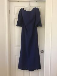 Frascara Royal Blue Mother Of The Bride/groom Gown Dresssz-10beautiful