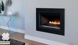 35and039and039 Linear Dv Clean Faced Fireplace With Electronic Ignition - Ng