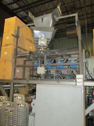 Ohlson Dual Oscillating And Vibrating Feeder Chutes Andndash For Auto Packing Metal Parts