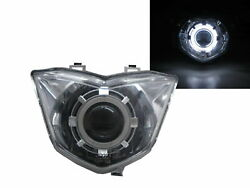 Gt125 Motorcycles Ccfl Projector Headlight Chrome For Sym