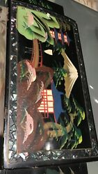 Vintage -collectible Oriental Musical Jelwelry Box .