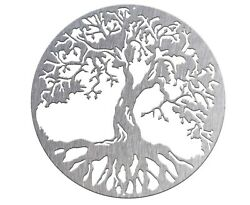 18 To 30 Tree Of Life Metal Wall Art Sign, Made In Usa, Various Finishes, Size