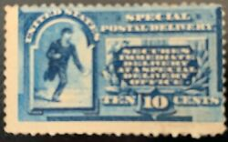 1885 10 Cent Special Delivery Us Stamp E1 Mng