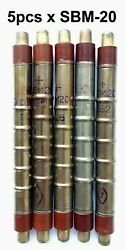 Defect. Lot Of 5 Pcs Geiger Muller Counters Gm-tube Sbm-20 An.sts-5