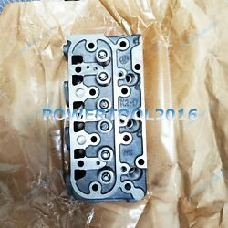 New Complete Cylinder Head Assy And Valve And Spring For Bobcat Kubota D1305 Engine