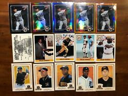 Tough 2003 Donruss Diamond Kings Bronze Border Pirates Team Set Aramas Ramirez