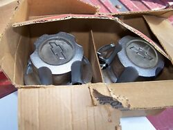 Nos Camaro Chevelle Nova 14 6-hole Chevy Rally Wheel Hub Cap Set Of 4 Trunk Box