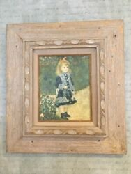 Renoir A Girl With A Watering Can Canvas Oil Reproduction By Fabulous Forgeries