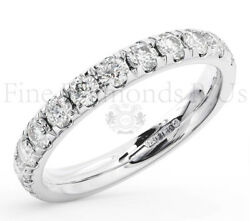 1.00ct Round Brilliant Cut Diamond Eternity Ring Wedding Available In 9k Gold