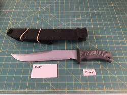 VERY RARE CUSTOM MAD DOG BLOODY BASIN BOWIE #007 OF 10 MADE KYDEX DUNDEE SHEATH