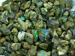 Natural Loose Gemstone 10 Ct To 2.5 Kg Fire Ethiopian Opal Rough Wholesale Lot