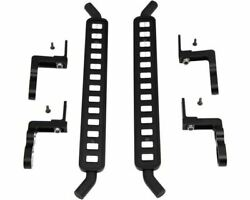 Hot Racing - Aluminum Ice Cube Style Rock Rail Side Step 2pcs Traxxas Trx-4
