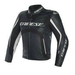 New Dainese Misano D-air Perforated Jacket Men's Eu 50 Black/white 1d2001694850