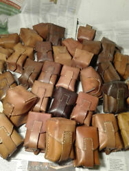 Lot 30 Leather Ammo Pouch Military Surplus Star Wars Boba Fett Captain America