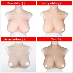 Silicone Breast Forms Big Boobs Crossdressing Transgender Cosplay Male To Female