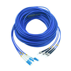 500m Lc-st Single-mode Indoor Armored Cable 9/125 4 Strand Fiber Patch Cord