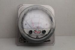Dwyer Instruments 3000mr-25mm Photohelic Pressure Switch Gauge 0-25 Mm Of Water