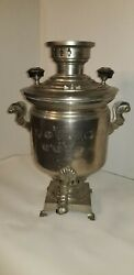 Antique Stamped Russian Samovar