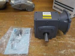 Boston Gear F72150kb5g Right Angle Gearbox Nema 56c Flange Input Right Output