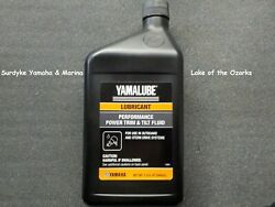 Yamalube Marine Trim And Tilt Fluid For Outboard And Stern Drive Acc-pwrtr-mf-32