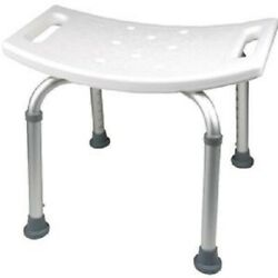 Pmi Probasics Adult Shower Bath Chair Seat, Without Back, 250 Lb Capacity