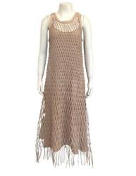 Christian Dior Nude Lambskin Woven Dress Size 8 Retail $9000 2019 Collection