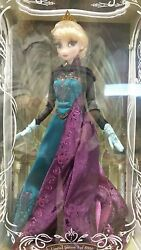 Disney Store Limited Edition Elsa Coronation Doll 17 Le 5000 Dvd Release Nrfb