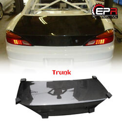 For Nissan Silvia S15 Oe-type Carbon Fiber Rear Trunk Boot Lid Replacement Part