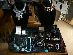 Estate Sale Jewelry Lot 2 26 Misc Costume Fashion New And Used