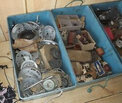 Large Lot Of New Old Stock Parts Dated From 1951, Evinrude, Johnson, Elto