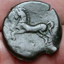 Unknown-ancient Greek Bronze Coin Ae 27mm-horse Ca 300-100 Bc