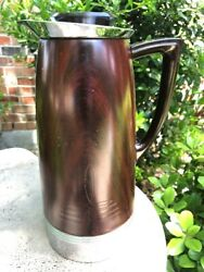 1940and039s Landers Frary Clark Universal Mid Century Modern Insulated Carafe Thermos