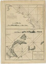 Antique Map Of Quinam And The Candocircn Đao Islands By Sayer 1778