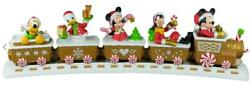 Hallmark 2016 Disney Christmas Express Train And Tracks Collectors Limited Edition