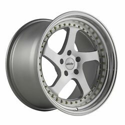 19x11 Whistler Sk5 5x114.3 +15 Machined Face Wheels Set Of 4