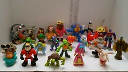 Mixed Lot Of 26assorted Vintage Movie And Tv Toys Action Figures - Fast Shipping