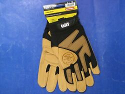 Klein Tools 40221 Jouenyman Professional-grade Leather Gloves Size L / G