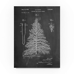Christmas Tree 1 by Cole Borders 35x47-Inch Canvas Wall Art