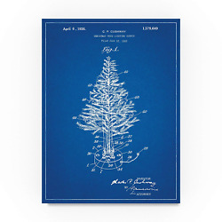 Christmas Tree 2 by Cole Borders 35x47-Inch Canvas Wall Art
